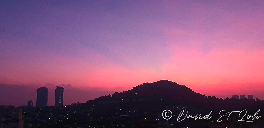 Sunrise, sunset, twilight, dawn, dusk, amazing colours, David st Loh, Davidstlohimages, DavidSTLohgallery
