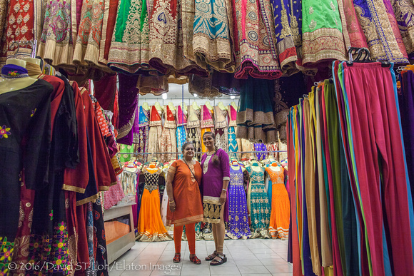 Shops sell traditional Indian costumes